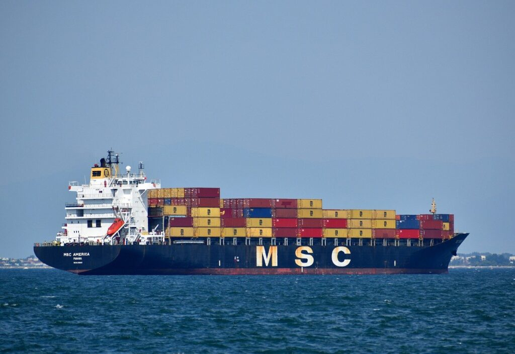 ship, cargo, vessel